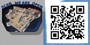 Shop Template mit QR Code